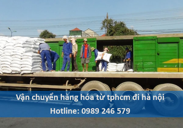Vận chuyển hàng hóa đi Hà Nội